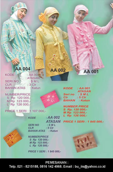 Koleksi Baju Muslim Dewasa (Perempuan)