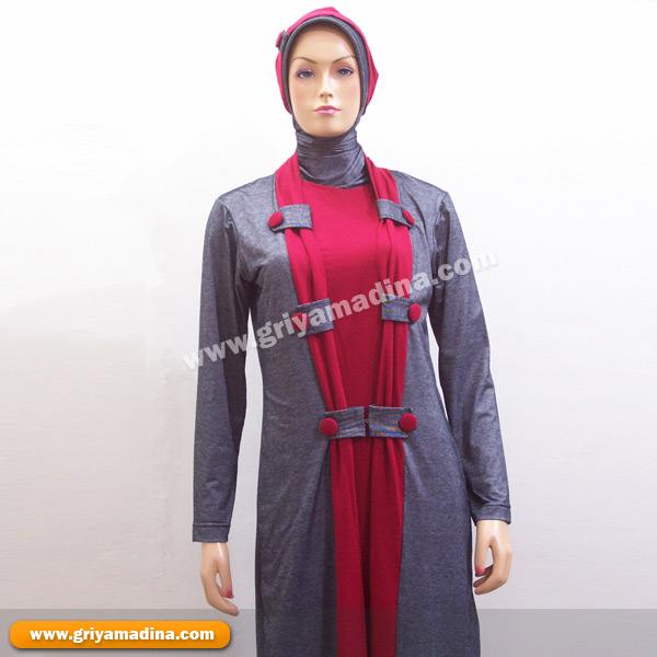 St Kaos Dan Jilbab 2 Madina Griya Busana Muslim