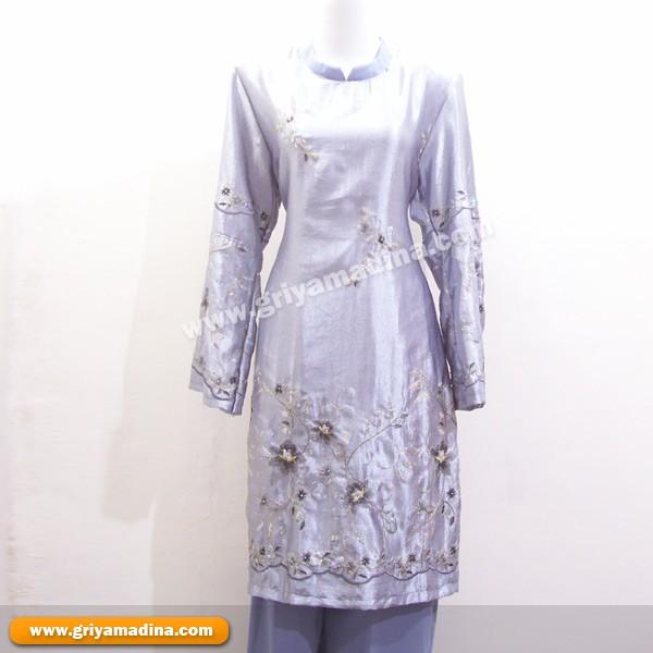Gamis Kotak Kotak Jilbab Baju Gamis Model Terbaru Harga