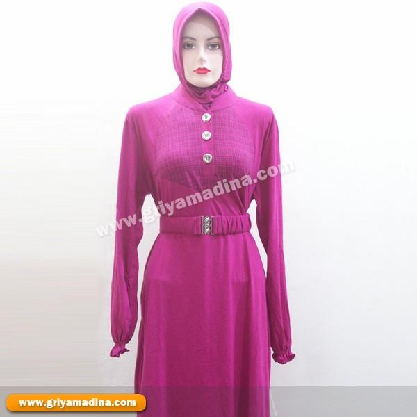 Baju Muslim Atasan Kaos Jilbab Madina Griya Busana