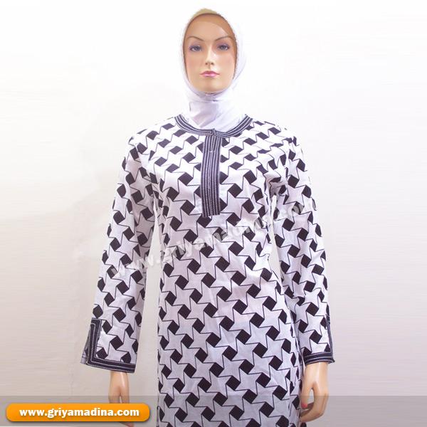 Baju Muslim Atasan Bahan Katun Madina Griya Busana