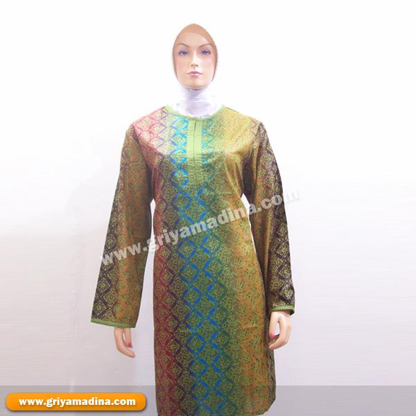Model Baju Songket Muslimah