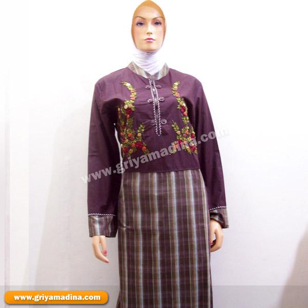 Baju muslim koleksi 18 madina griya busana muslim Baju gamis xl