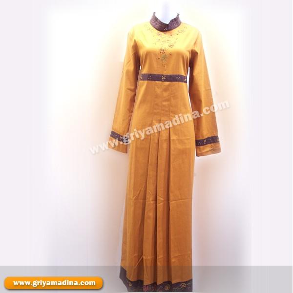 Gambar Model Baju Gamis Pesta Muslim Modern Terbaru