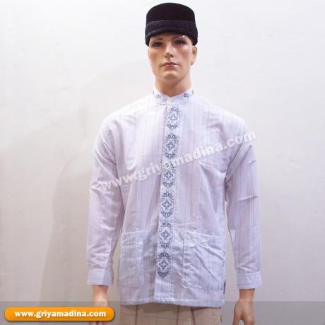 Putih Madina Griya Busana Muslim Busana Muslim Baju