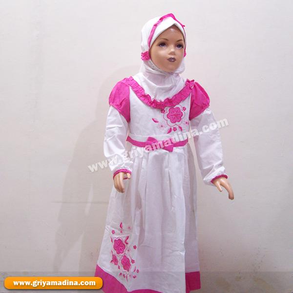 Baju Muslim Anak Perempuan Madina Griya Busana Muslim