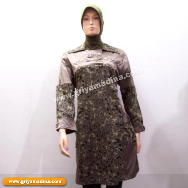 Baju Muslim Wanita Koleksi 97 Madina Griya Busana Muslim