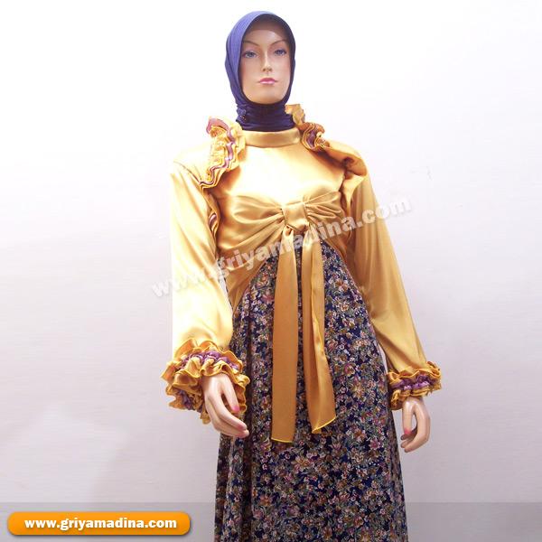 Gamis Koleksi 16 Madina Griya Busana Muslim Busana