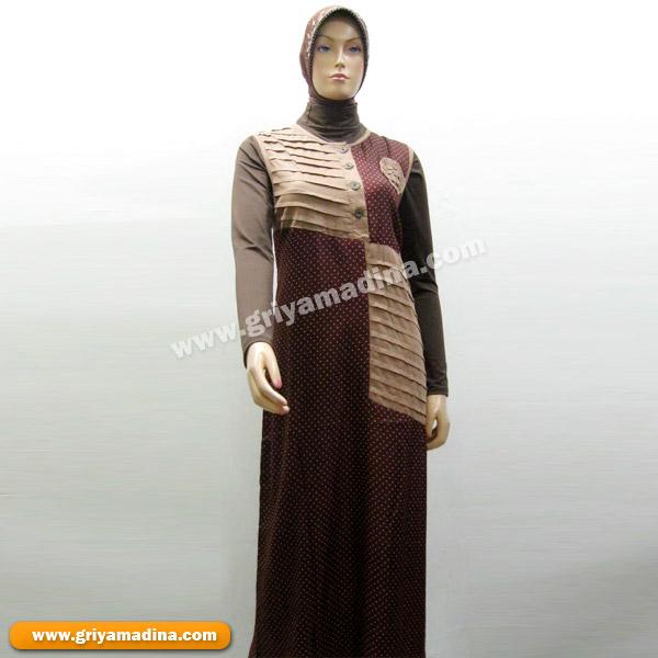 Baju Muslim Wanita Gamis Koleksi 39 Madina Griya