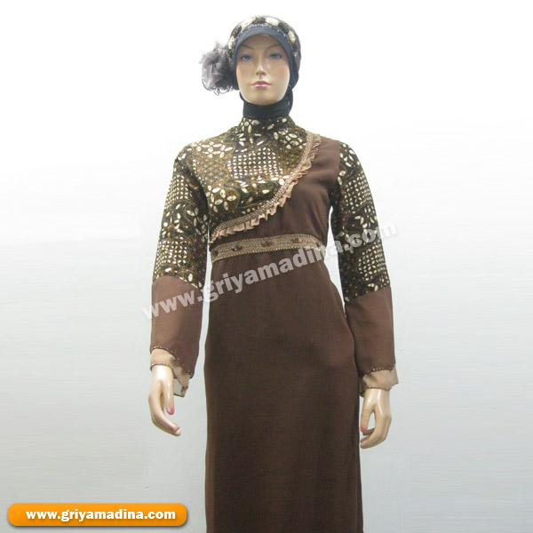 Baju Muslim Wanita Gamis Koleksi 40 Madina Griya