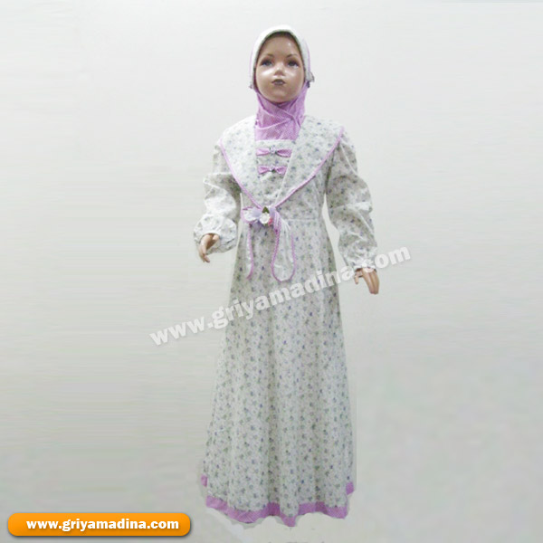 Baju Muslim Anak Perempuan Koleksi 8 Madina Griya Busana Muslim