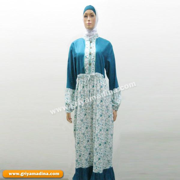 Baju Wanita Gamis Madina Griya Busana Muslim Busana