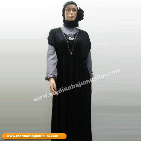 Gamis Koleksi 51 Madina Griya Busana Muslim Busana