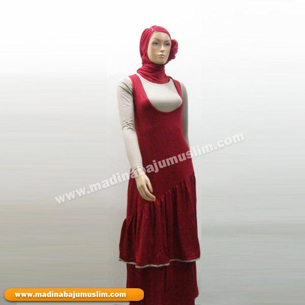 Gamis Koleksi 54 Madina Griya Busana Muslim Busana