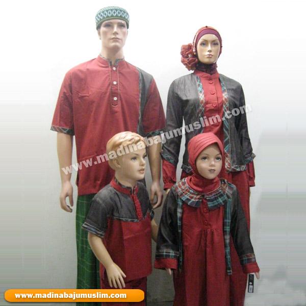 Sarimbit Muslim Keluarga Carmela Madina Griya Busana