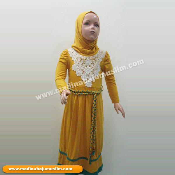 Model Baju Muslim Pesta Anak Perempuan Terbaru Busana
