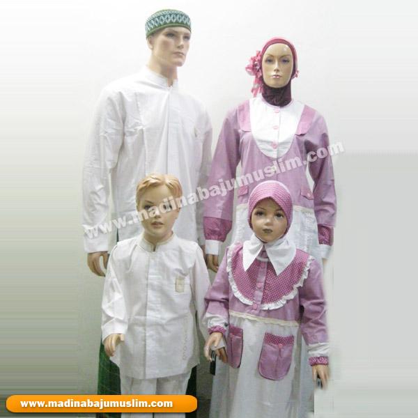 Baju Sarimbit Bapak , Ibu & Anak-anak