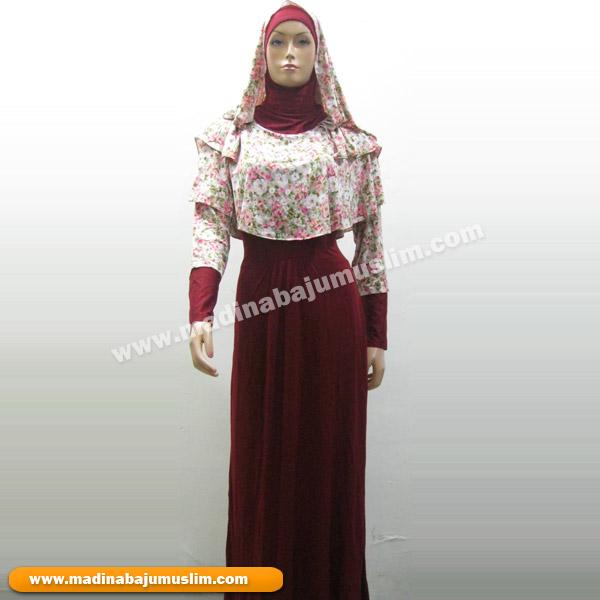 Gamis Koleksi 68 Madina Griya Busana Muslim Busana