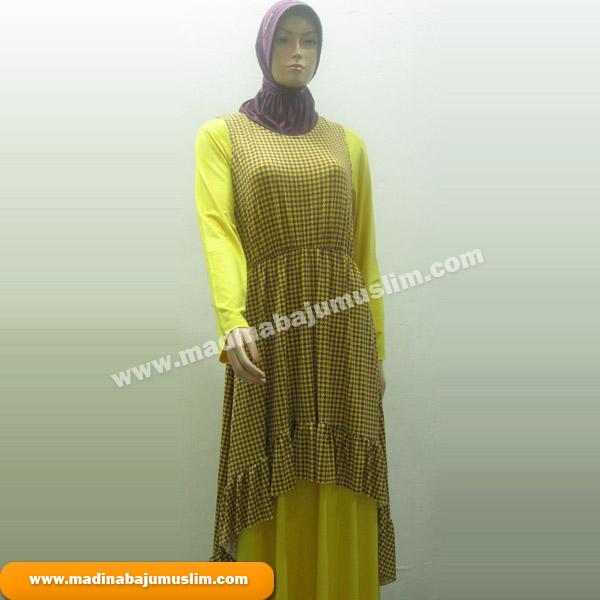 Gamis Koleksi 71 Madina Griya Busana Muslim Busana